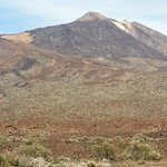 Peak of mount Teide (highest volcano in Europe)