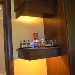 mini bar in room