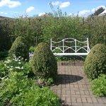 Italian garden (just one area within walled garden