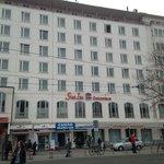 Main fassade of hotel