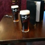 Couple of pints of Smithwicks in the hotel bar