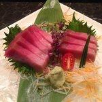 Fresh Toro Sashimi, imported from Tsuikji Market in Tokyo