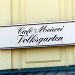 Cafe Meirerei sign