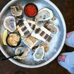 oysters with crackers