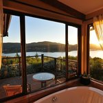 What a view from your bath!