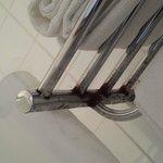 Handtuchhalter verrostet