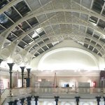 The roof in the main gallery (panoramic)