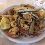 La frittura di pesce!!!