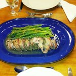 Roast pork with rosemary and sage