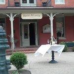 Atlantic Hotel Front Enterance