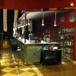 Zona de bar en recepcion