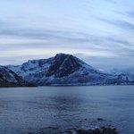 Grotfjord at dusk