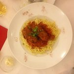 Meat Balls with Spaghetti - Amazing!!!