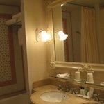 bagno della camera standard