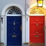 Front doors to the B&B