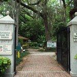 Entrance to Sugar Mills Botanical Gardens