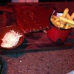 Half BBQ ribs
