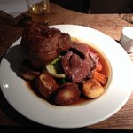 Beef Sunday lunch £11.95