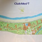 Plan du Club Med