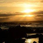 Sun rise at Sandy Beach
