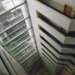 Vista do elevador panoramico
