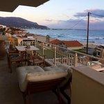 huge terrace. nice place to enjoy sunset