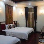 comfy beds, spacious rooms