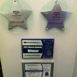 Some of the awards won