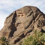 local rock face