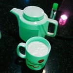 beer served in teapot..wink wink
