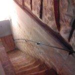 scale che portano alla taverna colazioni