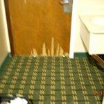 Door destroyed