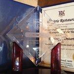 Award for entrepreneur of the year 2014