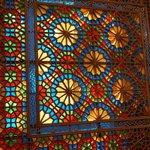 Fenster Sheki Khan Palast