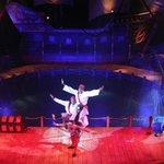 Limbo and acrobatic troupe