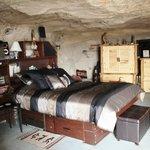 bedroom, Kokopelli;'s cave