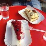Cheesecake fruit rouge et caramel