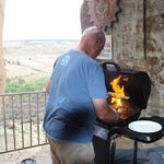 Steak burn, Kokopelli's Cave