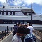 Boat tour of miami