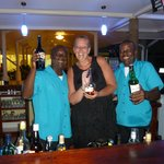 Denis and Cameron...great barmen! Can recommend the Mango daiquiri :-)