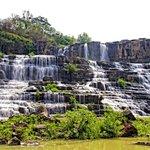 Pongour Fall in dry season