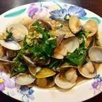 a dish from the night market (clams)