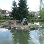 Vue sur le petit étang