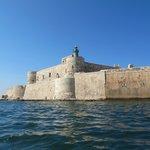 """Fortaleza en la """"isla"""""""