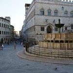 Centro in Perugia, Italy.  Fontana Maggiore, Communale and Corso Vannucci