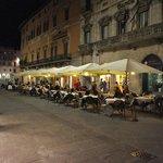 Corso Vannucci in Perugia, Italy
