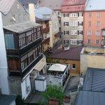 Utsikt från mitt rum på femte våningen