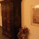 Våningsplan med vackra möbler