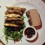 fig crusted chicken liver pate