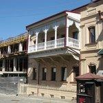 Hotel Amassadori Ansicht von der Rückseite